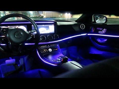 2018 Mercedes Benz E Cl Interior Lighting Exterior Overview