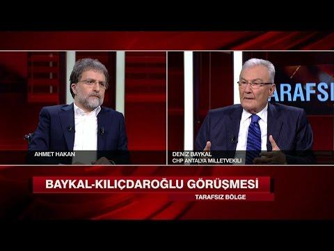 Deniz Baykal, Tarafsız Bölge'de soruları yanıtladı 1 Mayıs 2017 Pazartesi