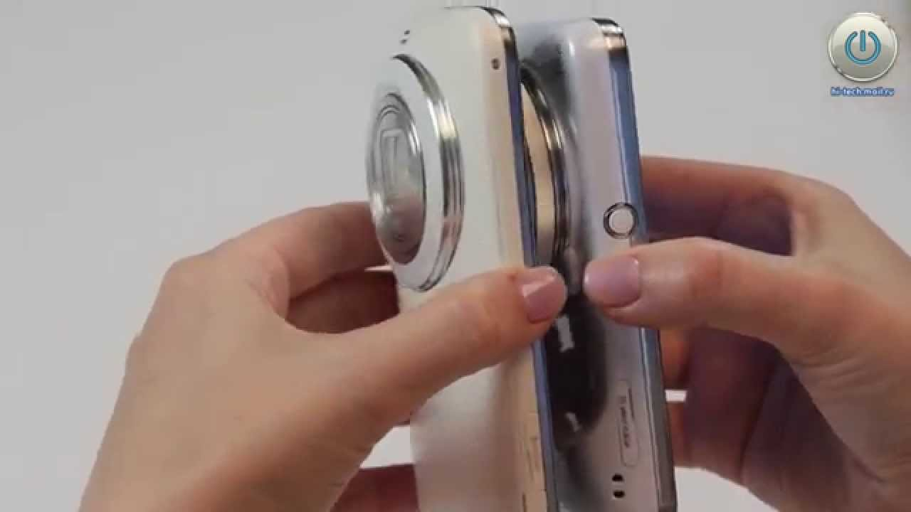 EUROPEAN SMARTPHONE CAMERA 2014-2015 - Samsung Galaxy K zoom - YouTube