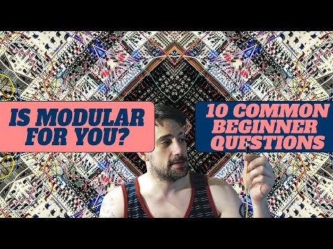 Ready to go modular? 10 Common Beginner Questions