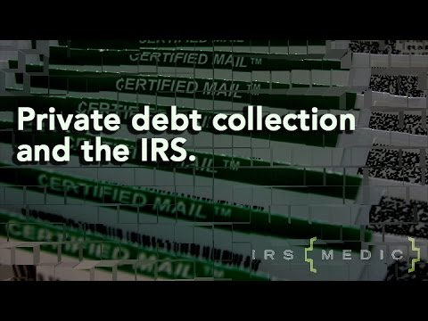 The IRS and private debt collections