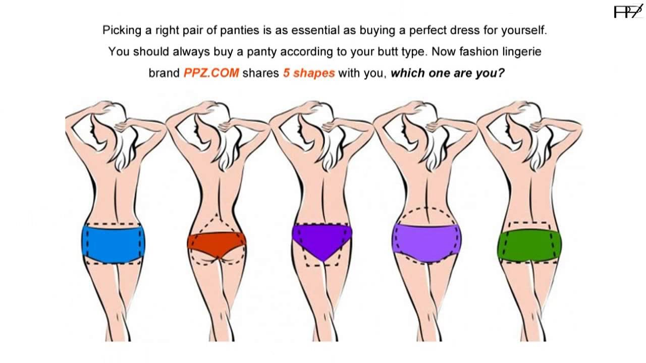 How To Choose The Right Panty Types Based On Your Butt Type - YouTube 86180b89e