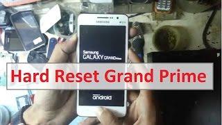 Hard Reset Pabrik Grand Prime G530 Mentok Logo BootLoop
