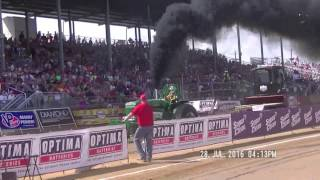 SUPER FARM TRACTORS  PPL CHAMPION TOUR ELKHART COUNTY, INDIANA FAIR JULY 28,, 2016