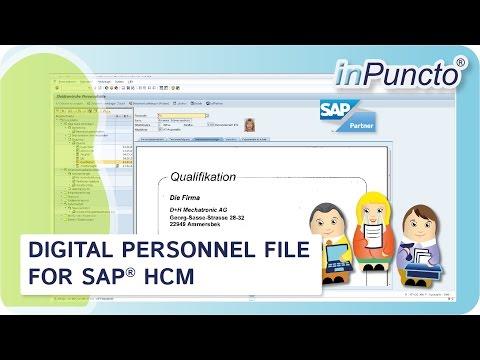 E File Personnel File For Sap Hcm Youtube