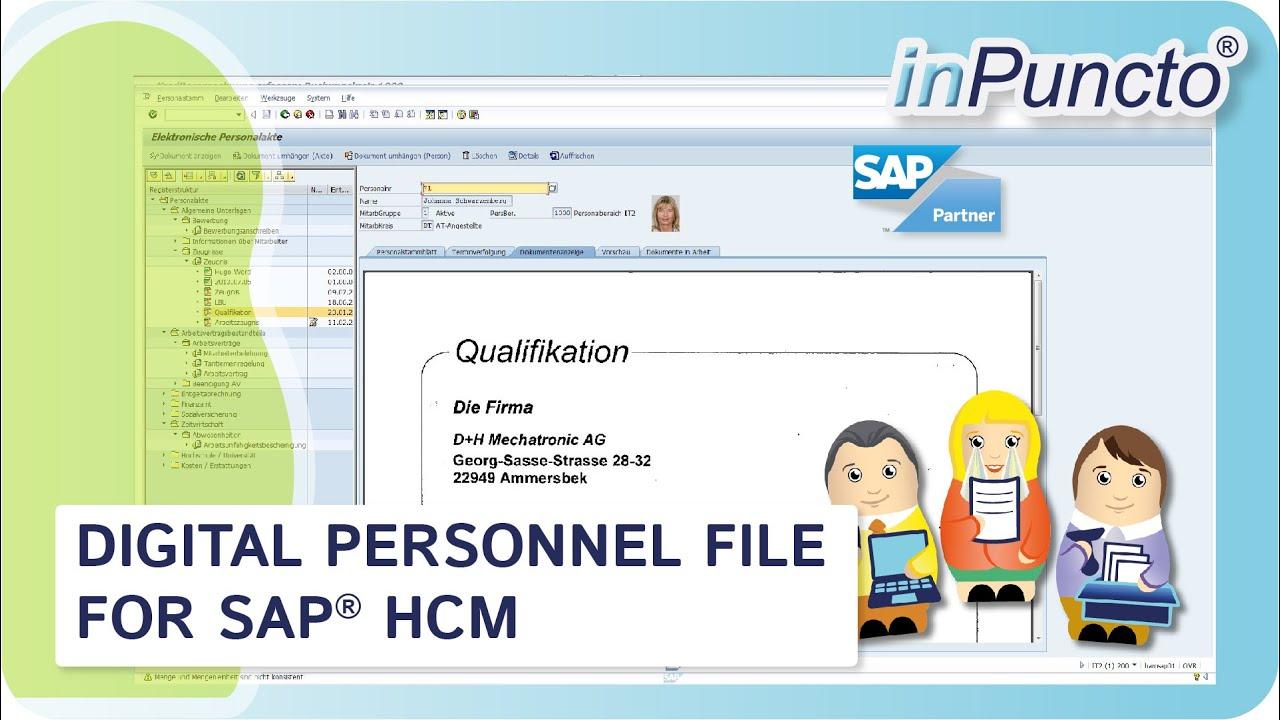 E File Personnel File For Sap Hcm