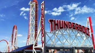 Thunderbolt final construction update HD Luna Park, Coney Island NYC