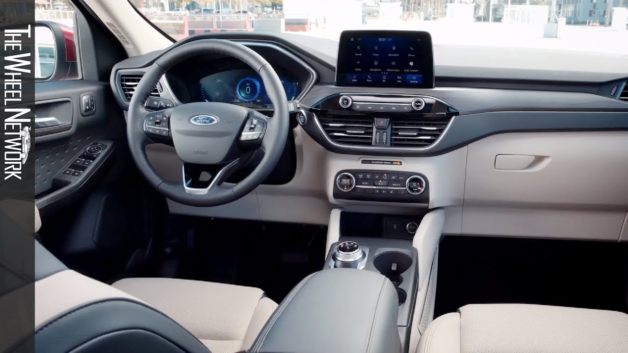 2020 Ford Escape Interior (US Spec) - YouTube