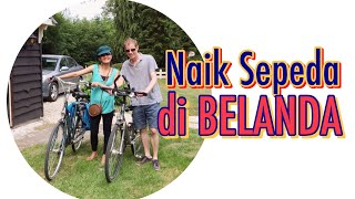 Naik Sepeda di BELANDA | Bicycle Touring Holland | APPELSCHA  MTB | FRIESLAND