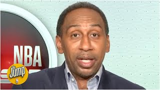 Stephen A. on the NBA season returning: We will see what champions are made of | The Jump