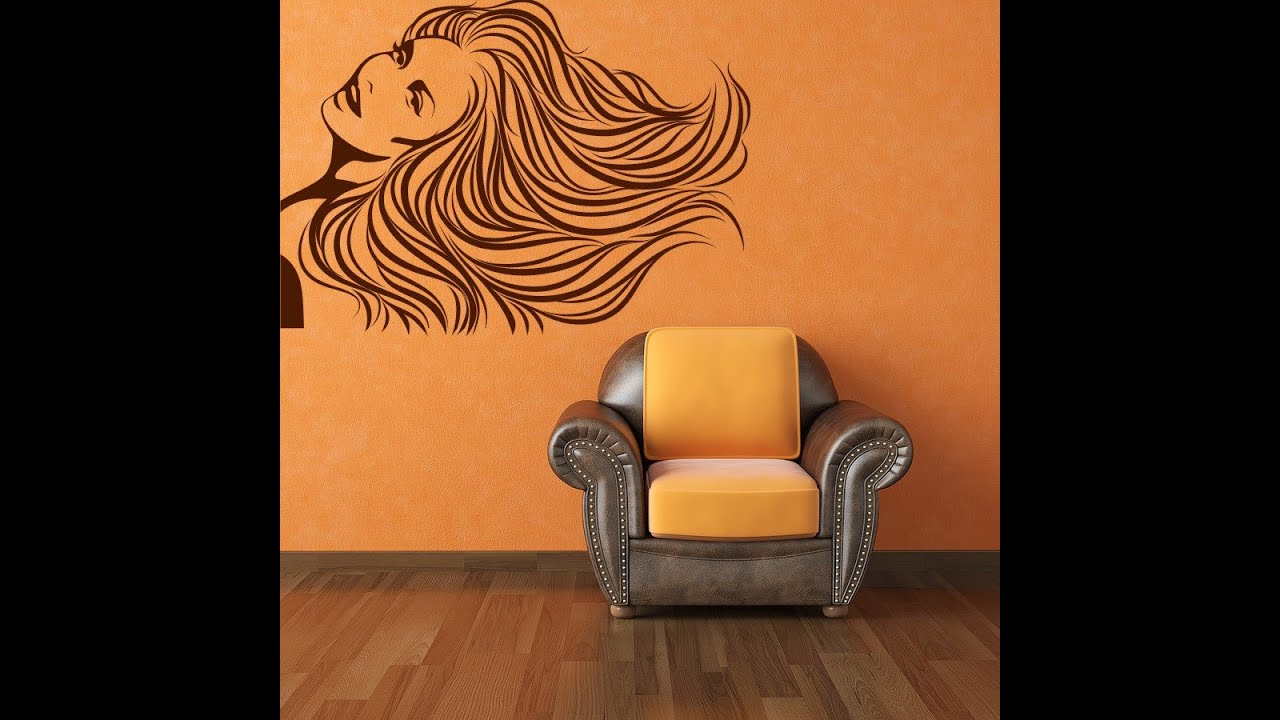 Adhesivos de paredes para habitaciones youtube for Adhesivos para habitaciones