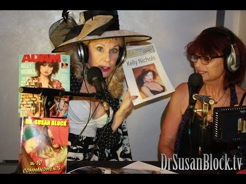 Kelly Nichols interview with Dr. Susan Block @ the Hollywood Show