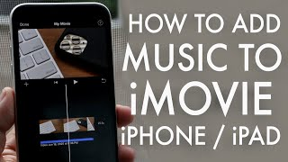 How To Add Background Music To Iphone Video.