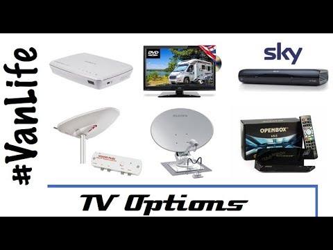 Satellite Tv And Internet >> How We Get Tv In Our Van Satellite Freeview Freesat Internet Rv Camper Motorhome
