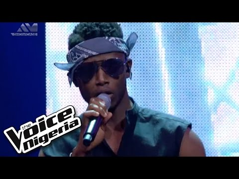 "Chike sings ""Mama"" / Live Show / The Voice Nigeria 2016"