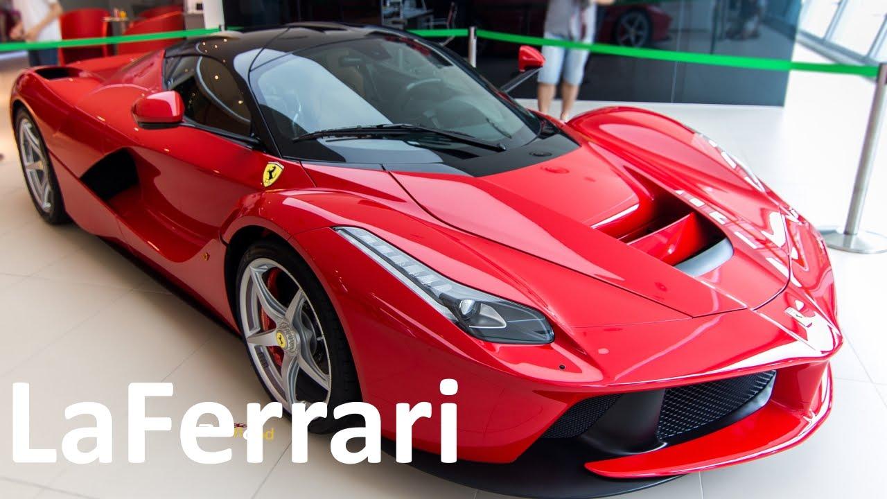 Ferrari LaFerrari Hypercar - Unit 1/499 in Singapore ! - YouTube