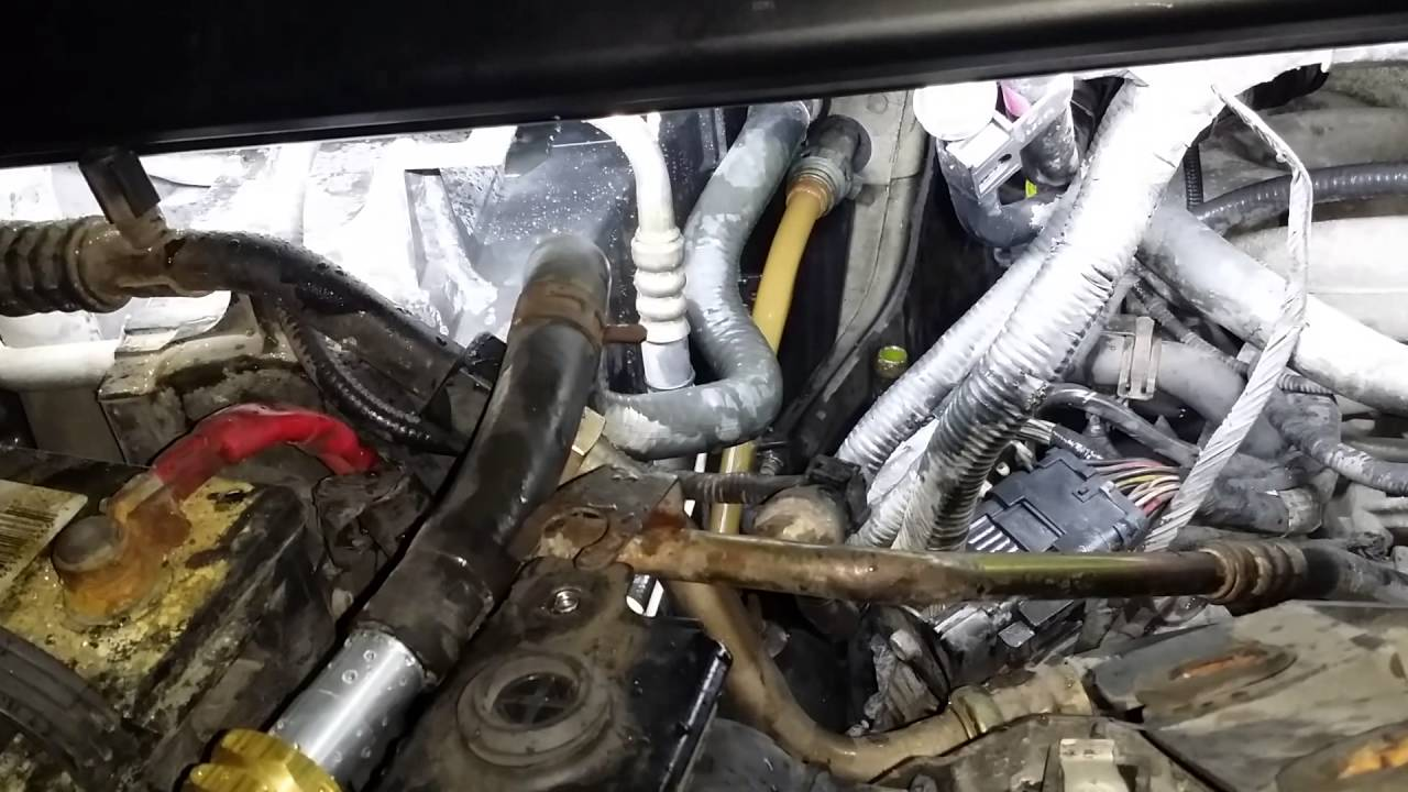 2000 Ford E250 With No Heat