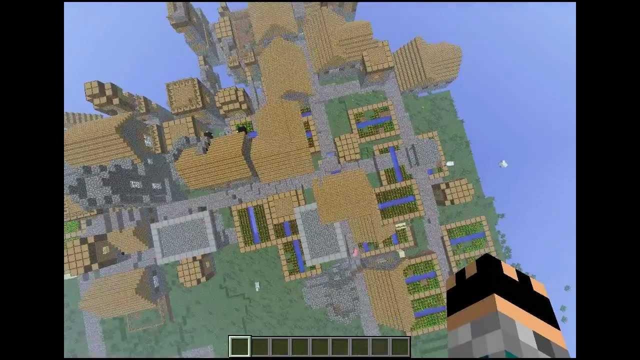 Minecraft - LARGEST NPC village ever!