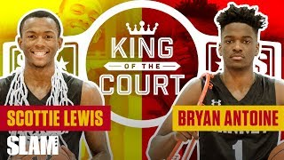 TEAMMATES TURNED RIVALS: Scottie Lewis & Bryan Antoine Play HEATED 1v1 | SLAM King of the Court