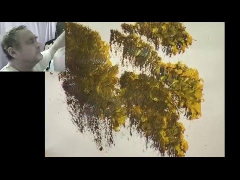 Brush And Knife Techniques Explained - Len Hend Painting Live Stream