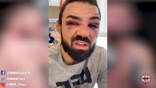 Mike Perry Reacts To Loss To Tim Means At UFC 255