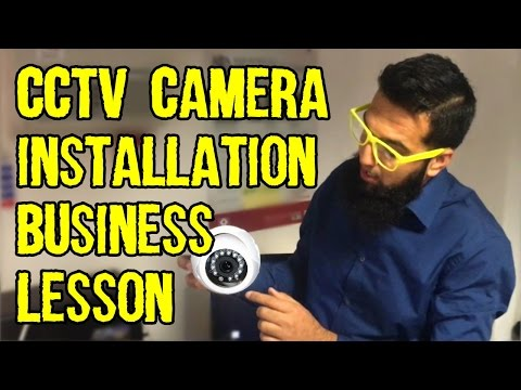 CCTV Camera Business Lesson | How to Install CCTV Cameras | Chaiwala com