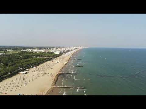 """lido-di-jesolo-italy-volo-del-drone-""""4k"""