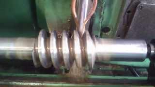 Szlifowanie ślimaka m=8, Thread grinding m=8