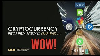 Cryptocurrency Price Projections Year-End 2019
