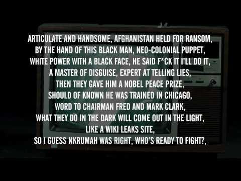 Lowkey - Obama Nation Part 2 ft. M1 (Dead Prez) & Black the Ripper (With Lyrics on Screen) ᴴᴰ
