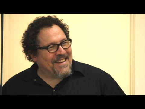 Jon Favreau's secret to being funny