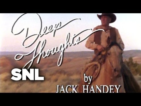 Deep Thoughts: Cowboys - Saturday Night Live