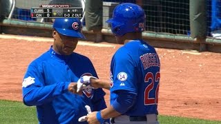 4/26/15: Arrieta, Russell lead way as Cubs top Reds