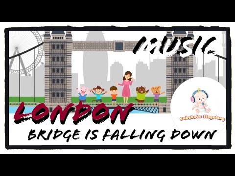London Bridge Song Instrumental (2018) - Music Nursery Rhymes for Children