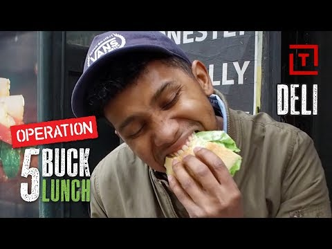 The Best Cheap Deli in NYC || Operation $5 Lunch