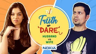 TVF Couples | Truth or Dare: Husband vs. Wife feat. Permanent Roommates