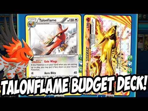 New Talonflame BREAK Budget Deck For New Format! NO Tapu Lele GXs Needed! PTCGO