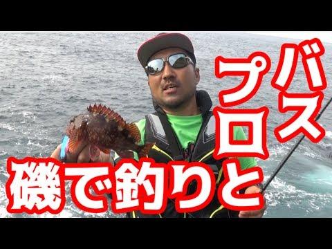 秦拓馬さんと沖磯に釣りに行った!!