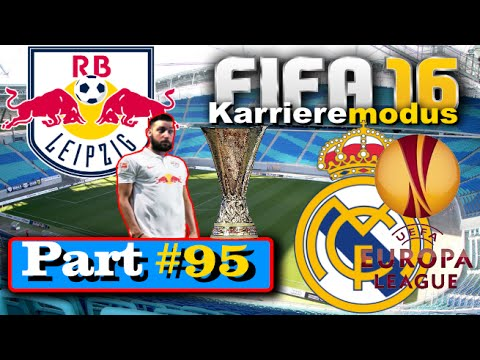 FIFA 16 Karrieremodus ★ RB Leipzig ★ [EURO LEAGUE] FINALE Real Madrid #95 [Let's Play]