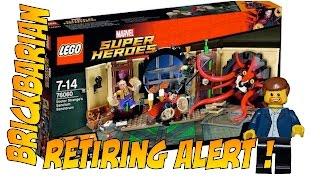 Lego Investing Dr. Strange Retiring Alert!