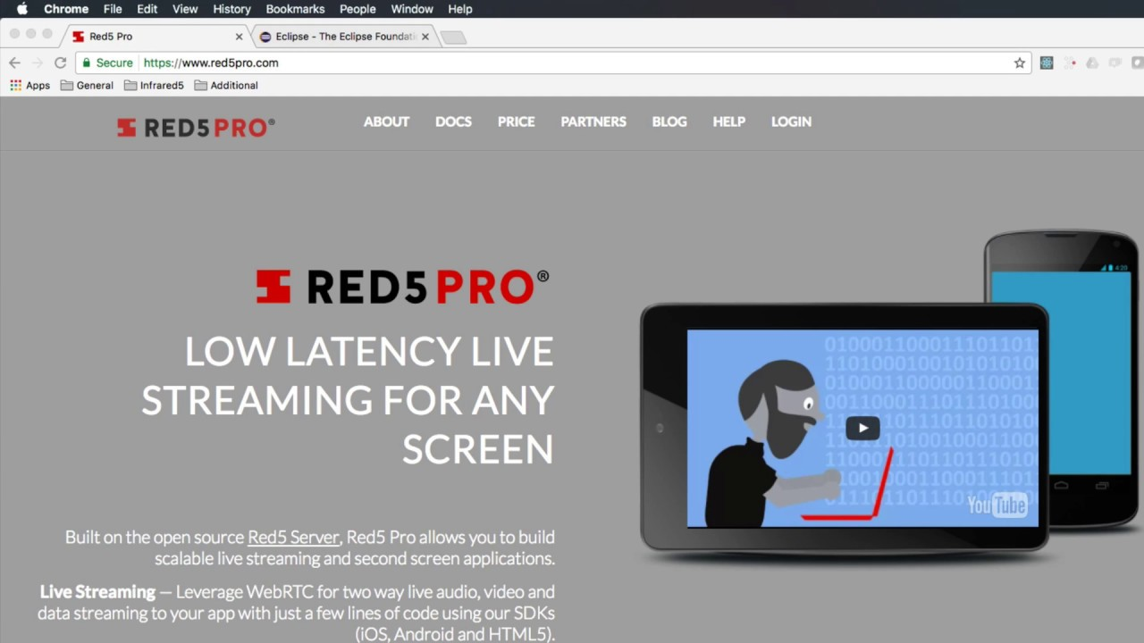 Red5 pro: creating a red5 pro application youtube.
