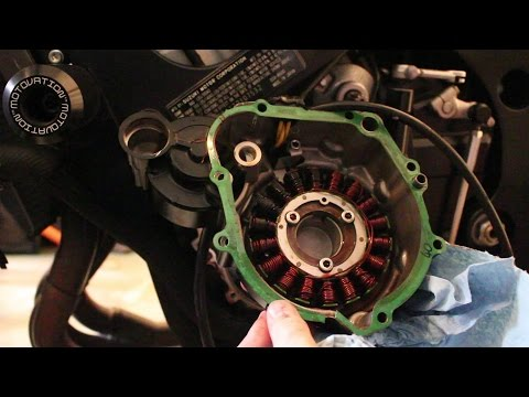 How to replace a Stator on a Suzuki GSXR 600 06/07/08/09-'15