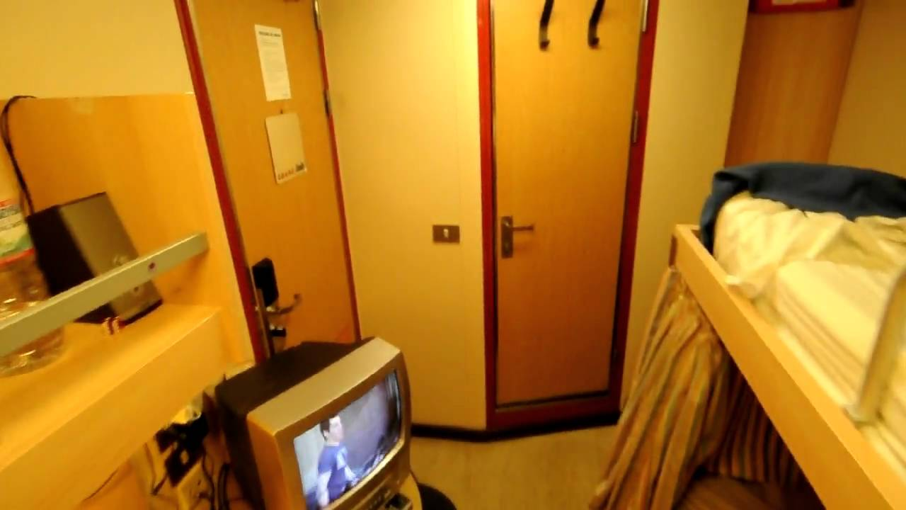 Crew Cabin On Carnival Victory Youtube
