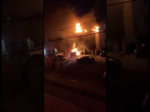 Video Captures Explosion In Massive Jersey City Fire, At Least 20 Homeless