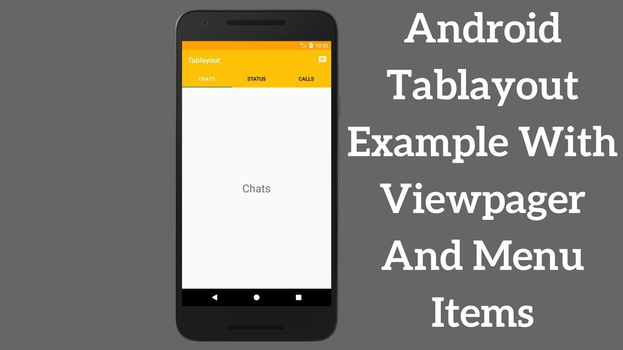 Android Tablayout Example With Viewpager - Coding Demos