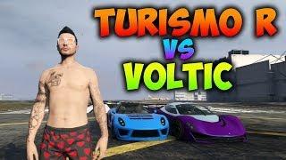GTA 5 ONLINE | TURISMO R VS VOLTIC | TEST DE VELOCIDAD | GTA V 1.11 | BraxXter