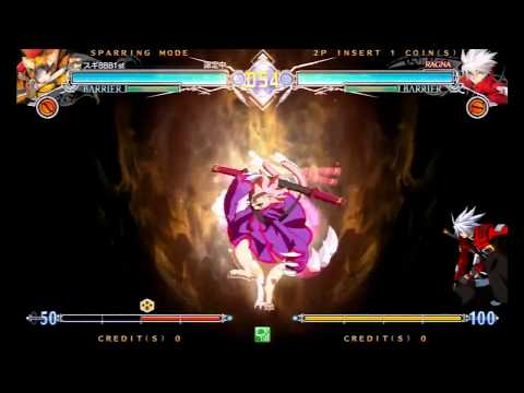 BBCF2 Day One Jubei Combos