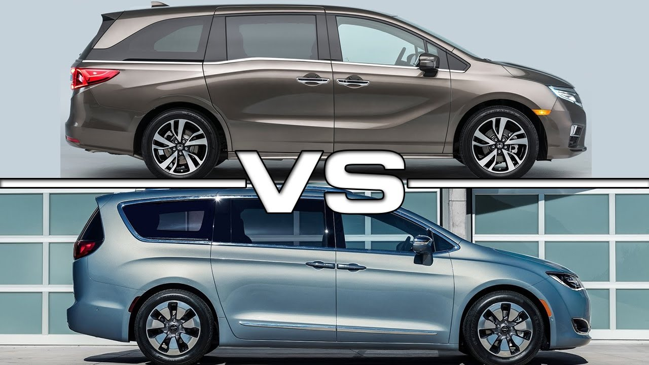 2018 Honda Odyssey Vs 2017 Chrysler Pacifica  O