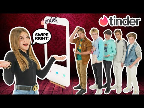 TINDER IN REAL LIFE! My CRUSH Reacts to Dating Game **HE CHEATS** | Piper Rockelle