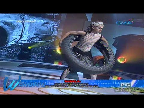 Wowowin: Supreme Alchemist's hula hoop using rubber wheels